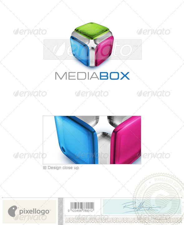 Activities & Leisure Logo - 3D-433 - 3d Abstract