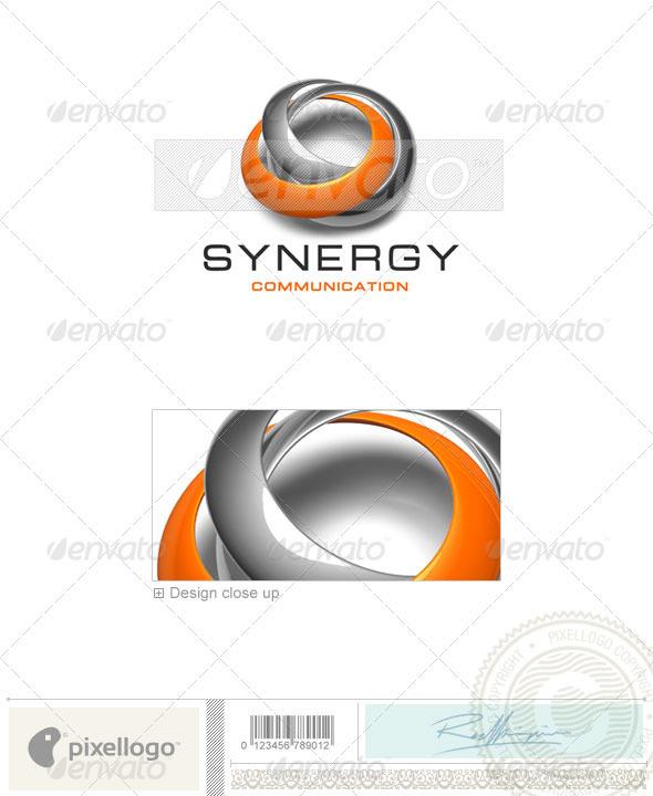 GraphicRiver Communications Logo 3D-429 497120