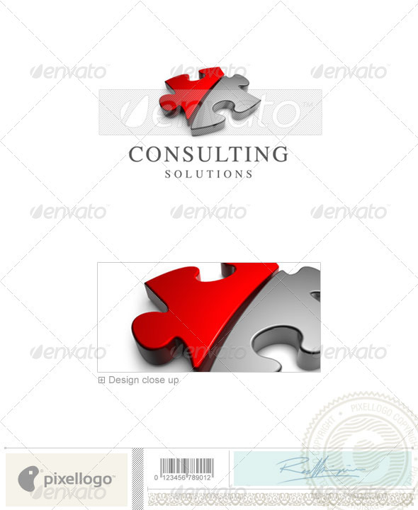 Business & Finance Logo - 3D-283 - 3d Abstract