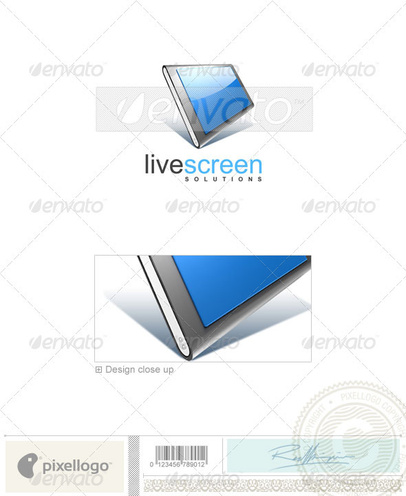 GraphicRiver Activities & Leisure Logo 3D-162 497198