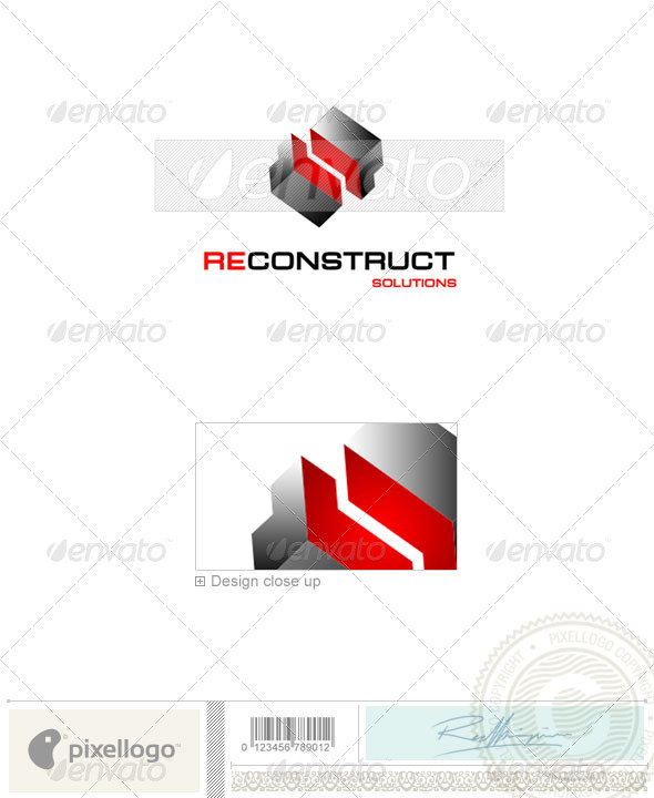 Business & Finance Logo - 1035 - Buildings Logo Templates
