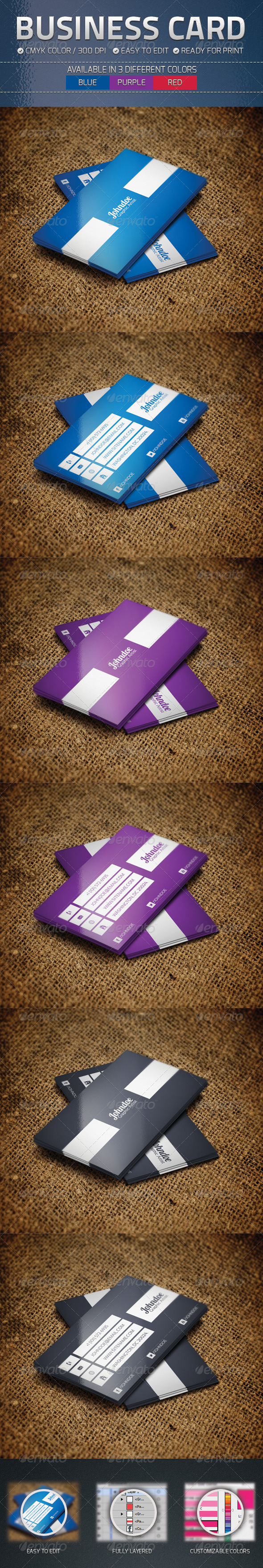 GraphicRiver Business Card 4764426