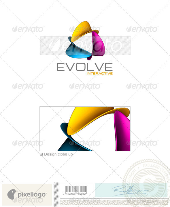 GraphicRiver Activities & Leisure Logo 3D-310 497395