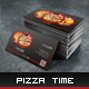 Pizza Time - Business Card - GraphicRiver Item for Sale