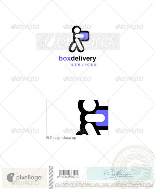 GraphicRiver Transportation Logo 677 497536