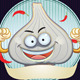 Garlic Mascot - GraphicRiver Item for Sale