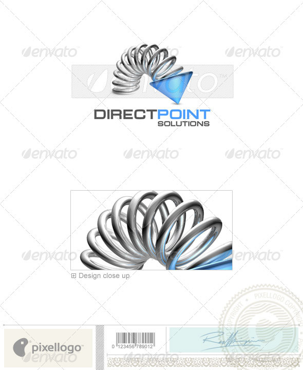 Business & Finance Logo - 3D-366 - 3d Abstract