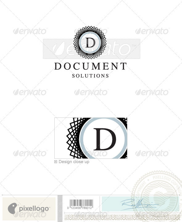 Print & Design Logo - 2151 - Vector Abstract