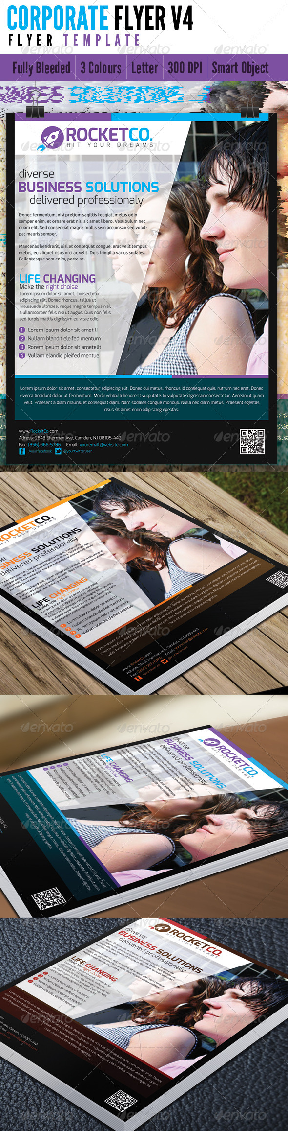 GraphicRiver Corporate Flyer V4 4691777