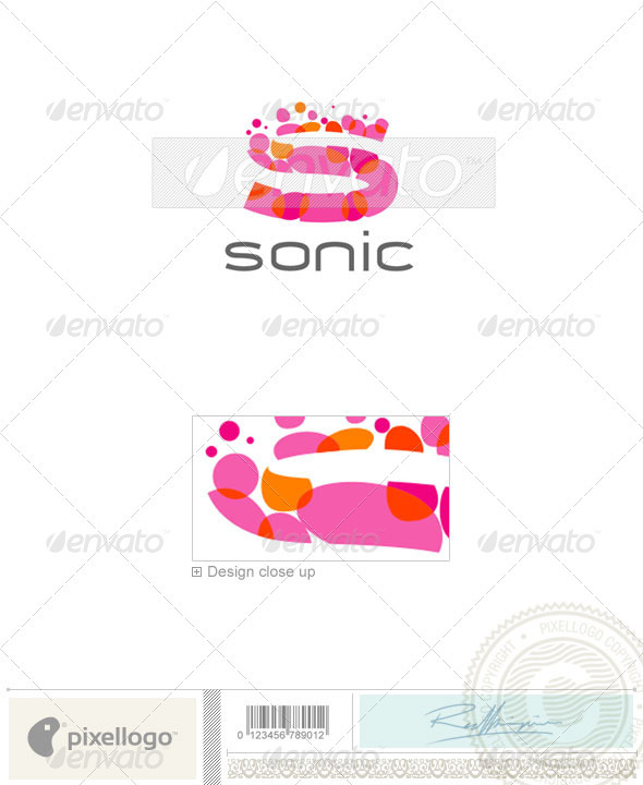 Print &amp; Design Logo - 1646 - Vector Abstract