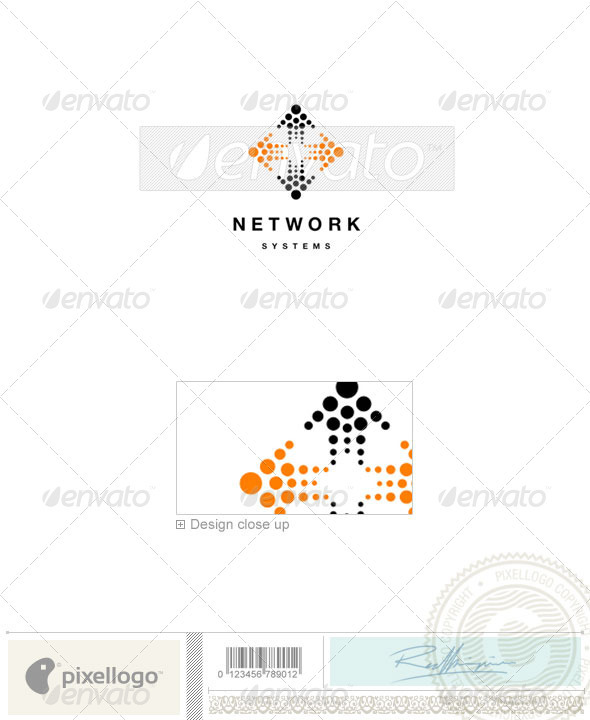 Technology Logo - 672 - Vector Abstract