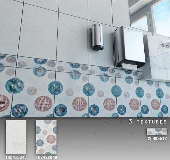 3DOcean Professional Ceramic Tile Collection C049 497795