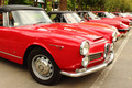 Gathering of vintage red cars - PhotoDune Item for Sale
