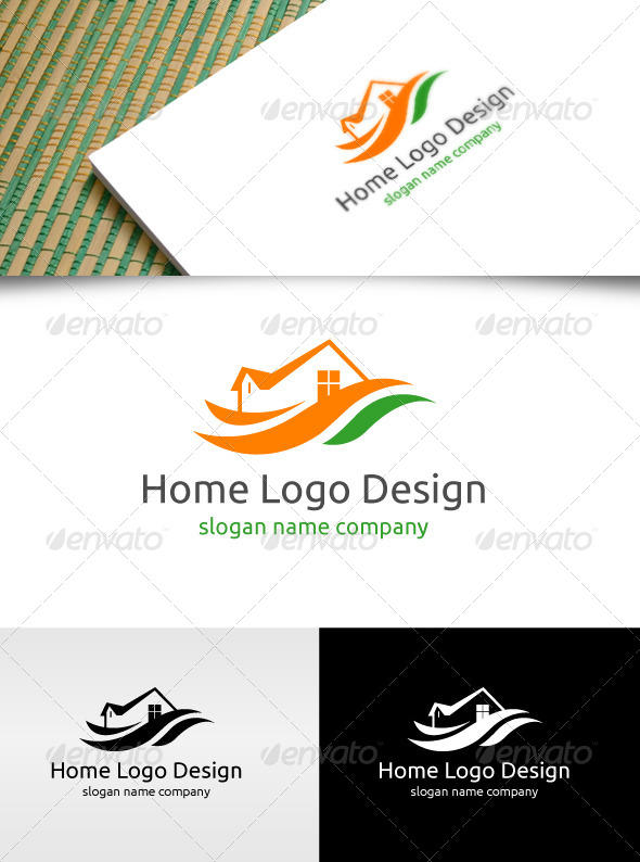 GraphicRiver Home Logo Design 4767160