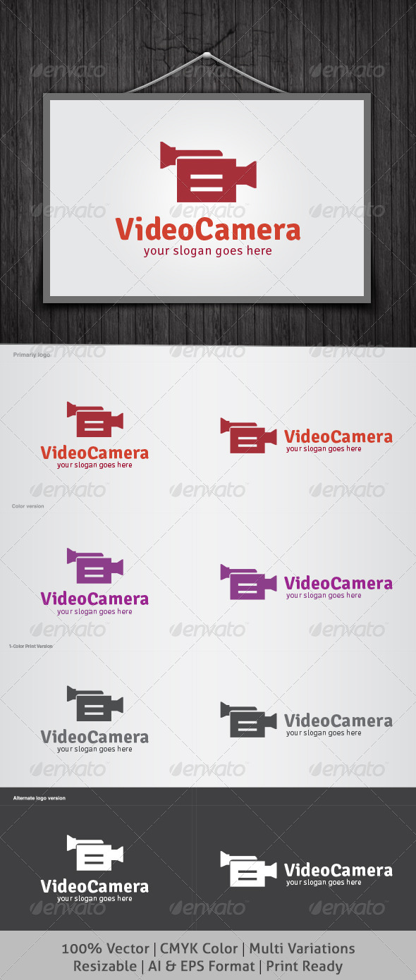 Video Camera Logo - Symbols Logo Templates