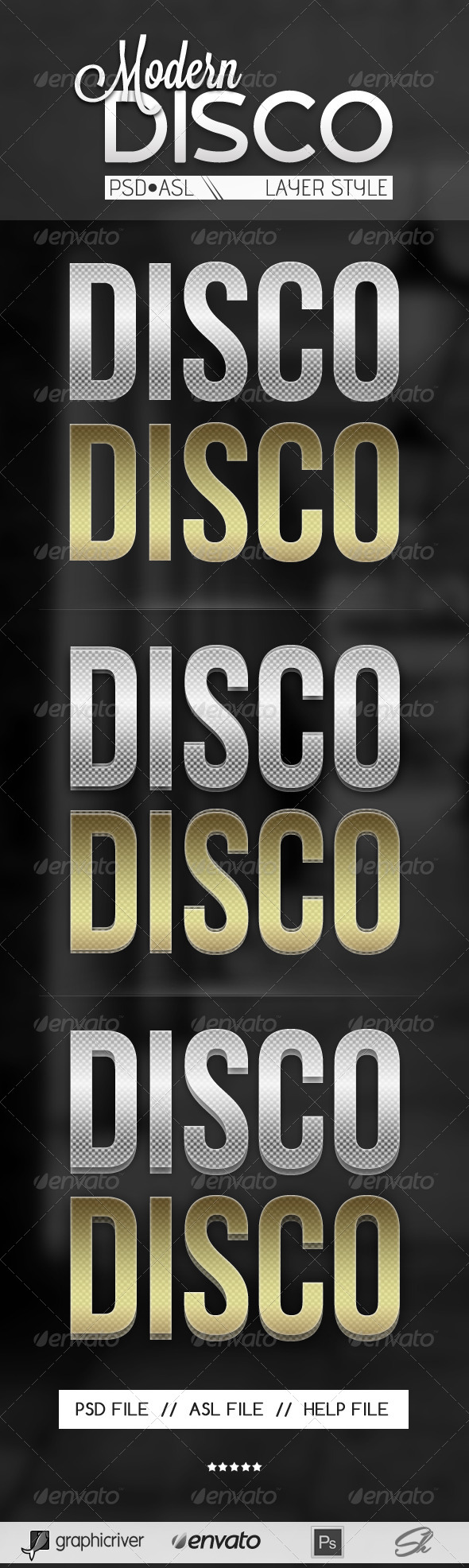 GraphicRiver Disco Text style 4769106