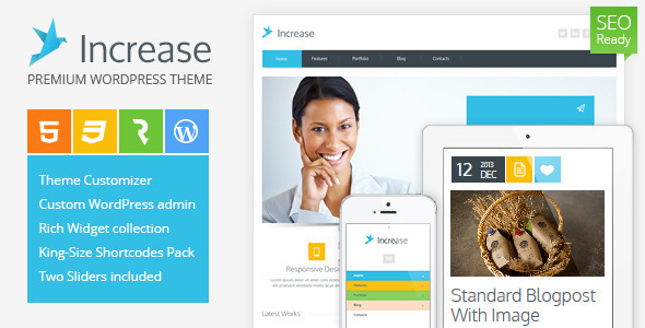 Increase - Premium Business WordPress Theme