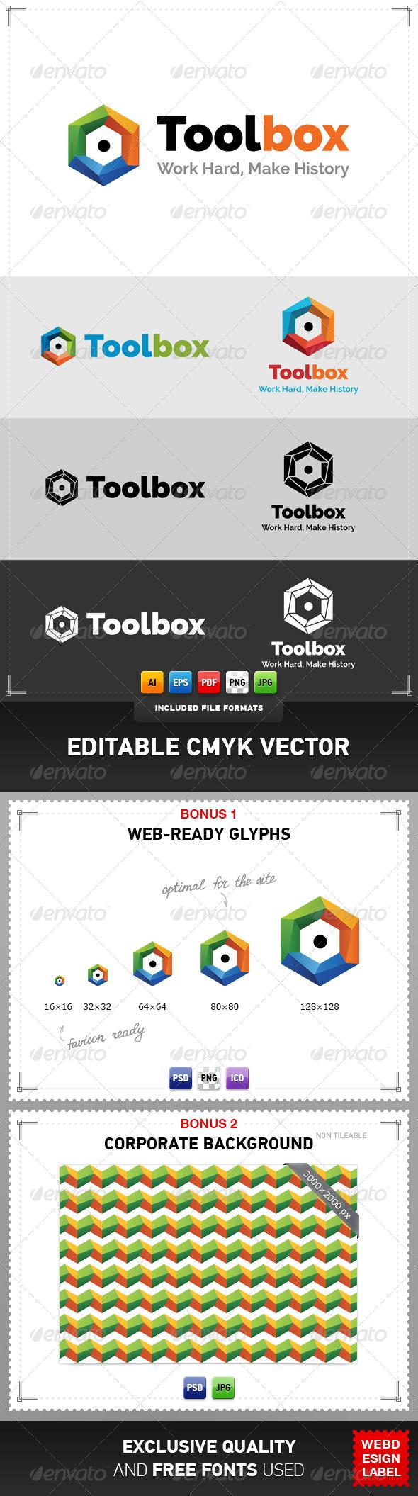 GraphicRiver Toolbox Logo 4769395