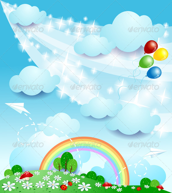 GraphicRiver Spring Background 4769438