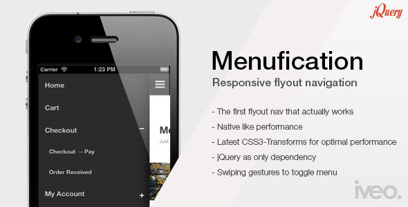 CodeCanyon Menufication Responsive Fly-Out Menu 4769457