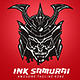 Ink Samurai Logo Template - GraphicRiver Item for Sale