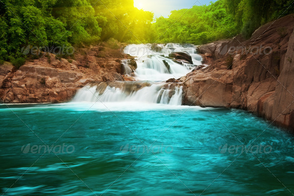High-Quality Beaituful Waterfall & Pond Photos Cool Nature Photography