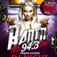 Radio Hits Flyer - GraphicRiver Item for Sale