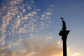 column and statue of King Sigismund III Vasa at sunset, Warsaw, Poland - PhotoDune Item for Sale
