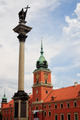 Warsaw Castle Square with king Sigismund III Vasa column. - PhotoDune Item for Sale