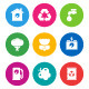 Color Environmental Icons - GraphicRiver Item for Sale
