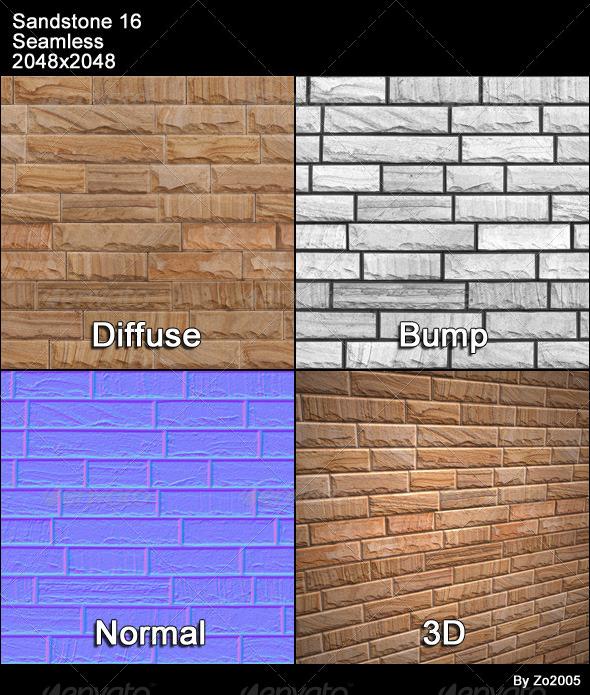 3DOcean Sandstone Seamless Texture 16 4776853