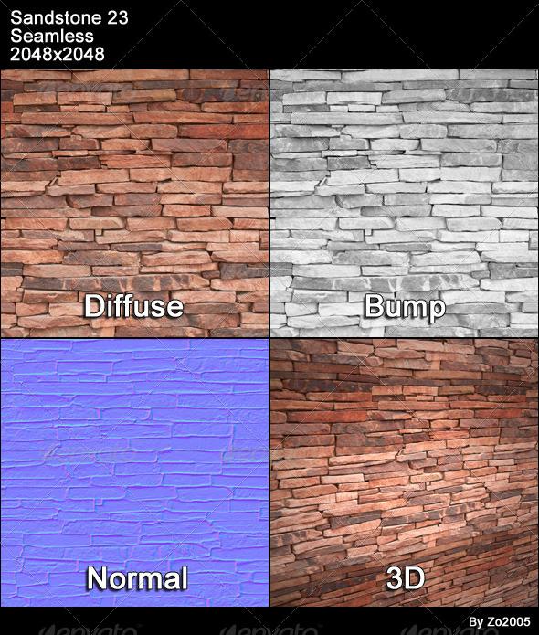 3DOcean Sandstone Seamless Texture 23 4777178