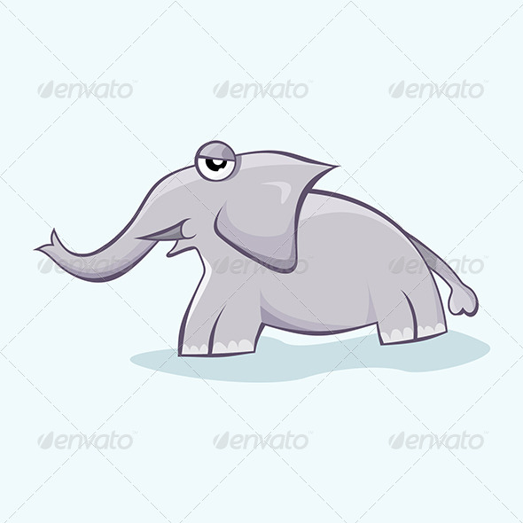 GraphicRiver Baby Elephant 4777239