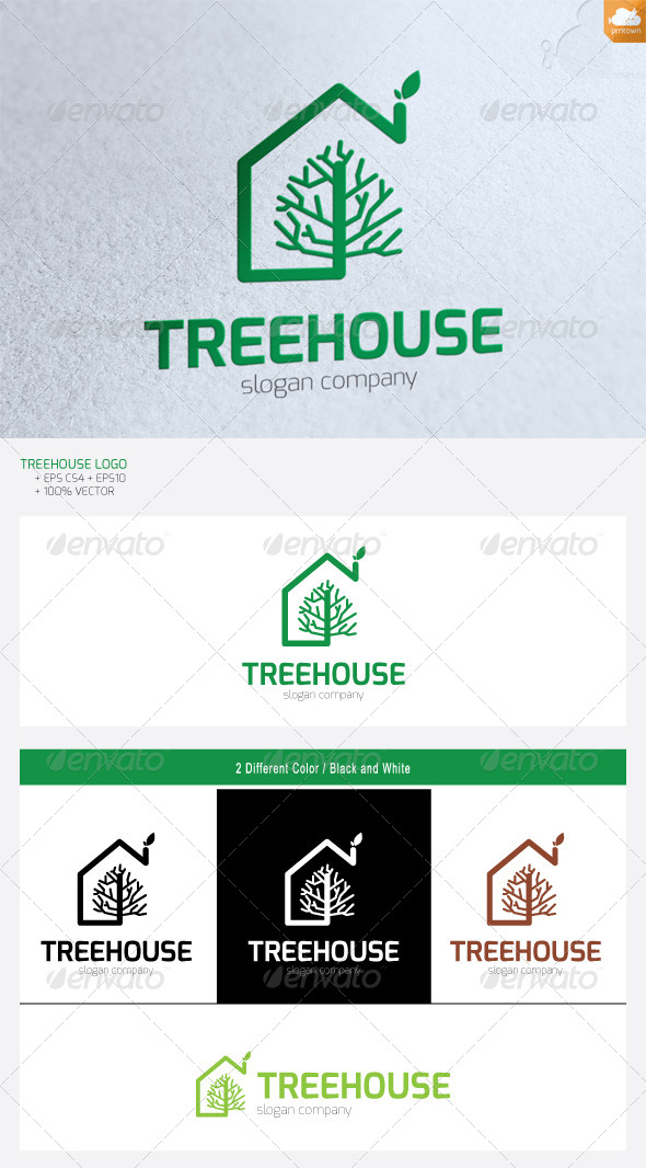 GraphicRiver Treehouse 4777325