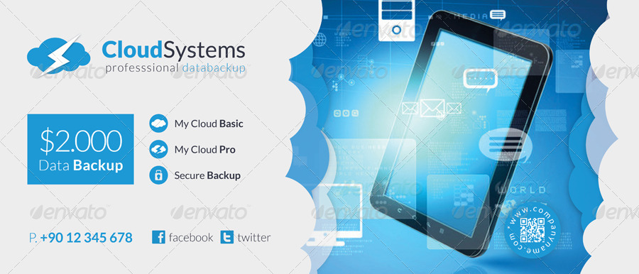 Cloud Systems Billboard Template