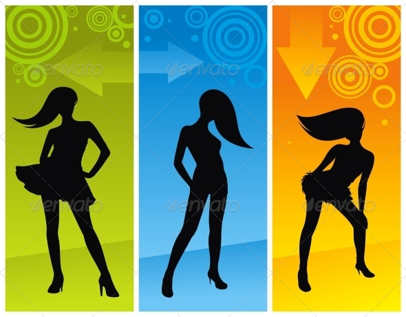GraphicRiver Dancing Girls 4779294
