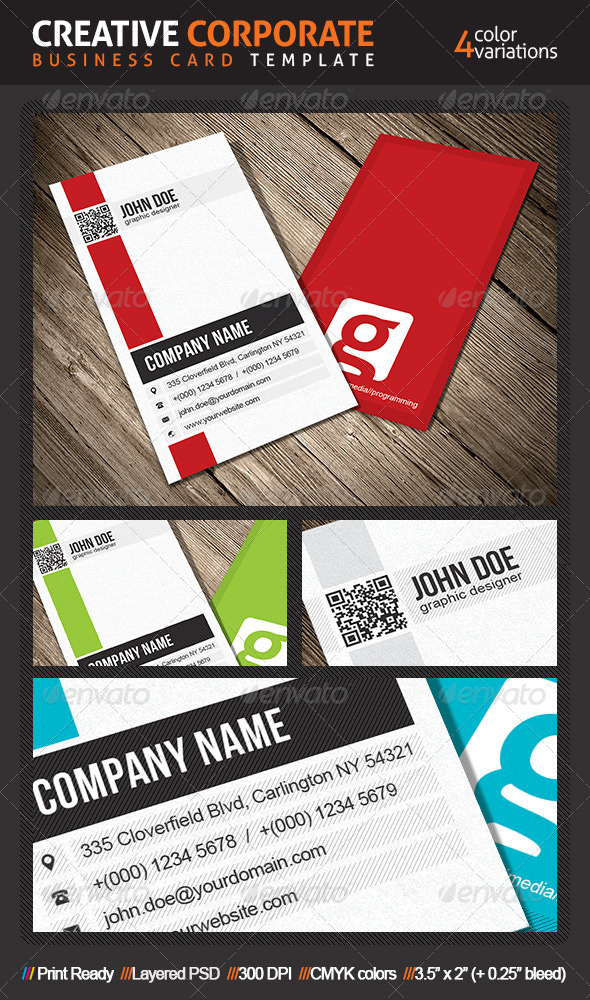 GraphicRiver Creative Business Card 4715577