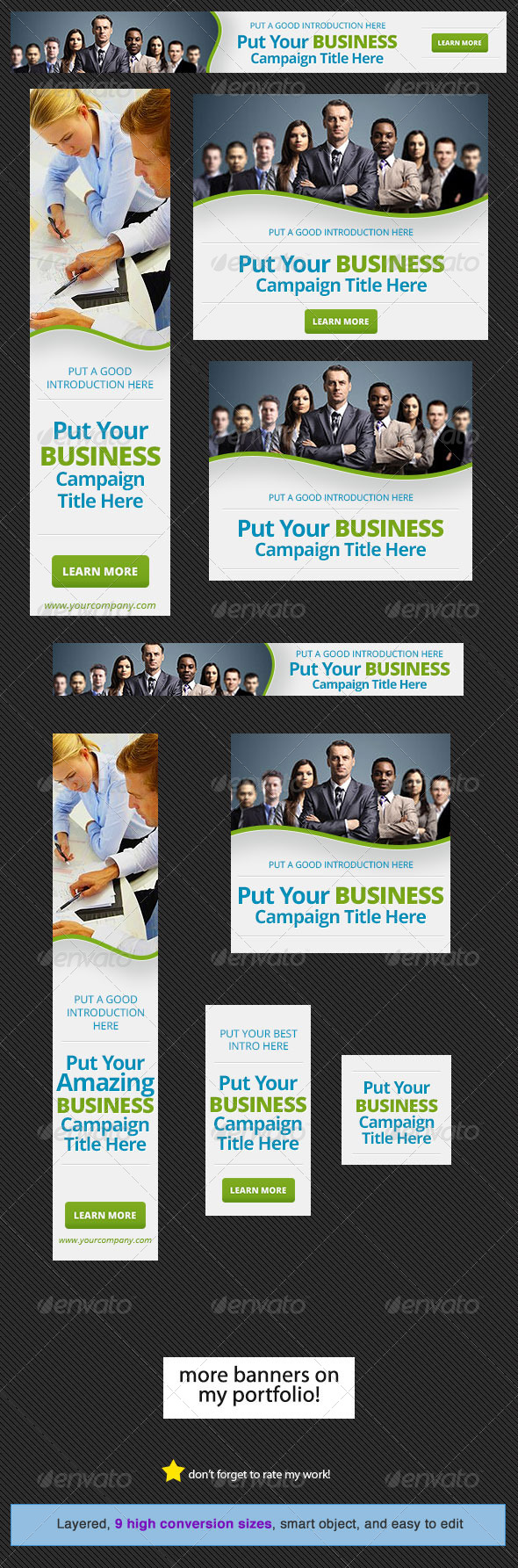 GraphicRiver Corporate Web Banner Design Template 15 4781404