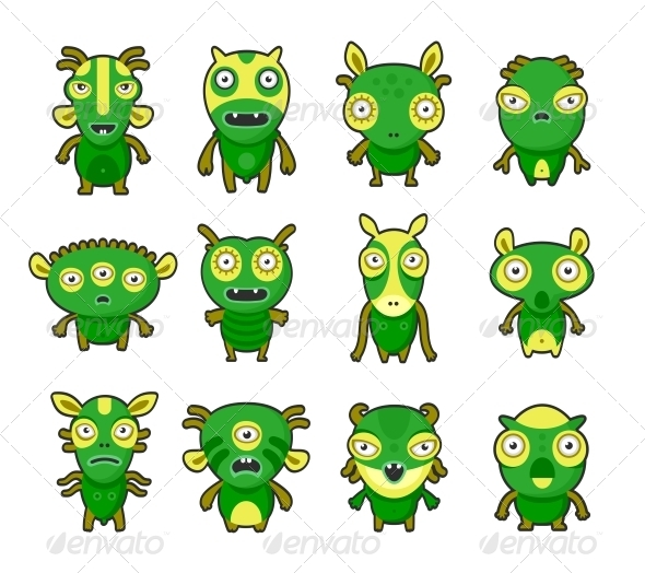 GraphicRiver Aliens Pets 4782209
