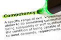 Competency Definition - PhotoDune Item for Sale
