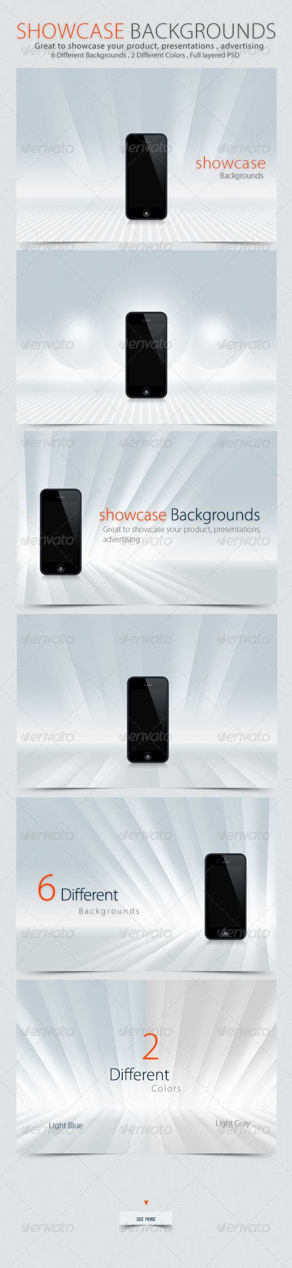 GraphicRiver Showcase Backgrounds 4783447