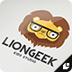 Lion Geek - GraphicRiver Item for Sale