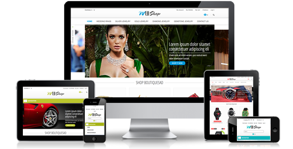 Responsive multi-purpose magento theme MT Webshop - Magento eCommerce