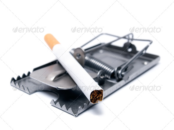 Stock Photo - PhotoDune Smoking trap 499652