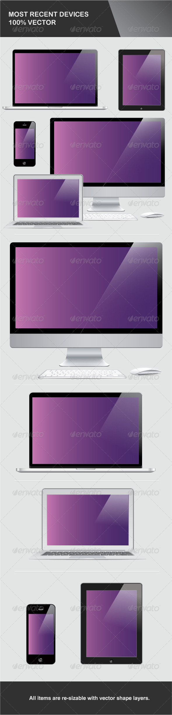 GraphicRiver Most Recent Devices in Vector 4771585