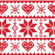 Winter Knitted Pattern, Card  - GraphicRiver Item for Sale