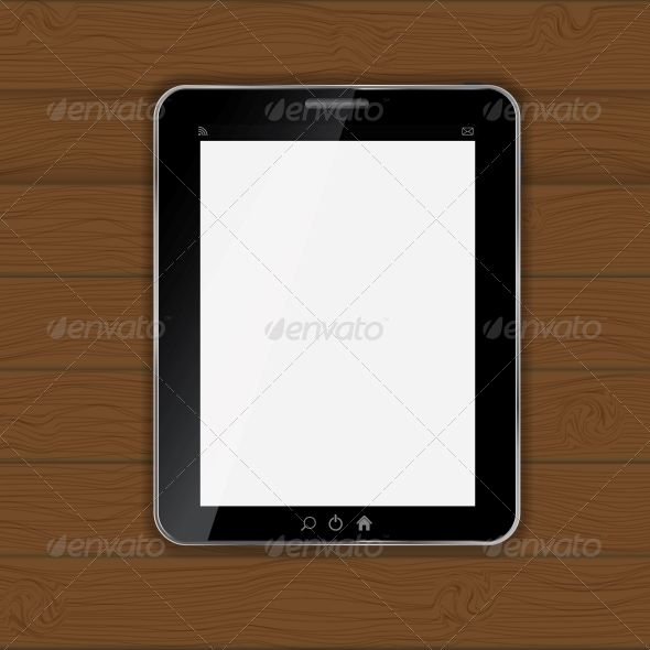 GraphicRiver Tablet Icon Vector Illustration 4786524