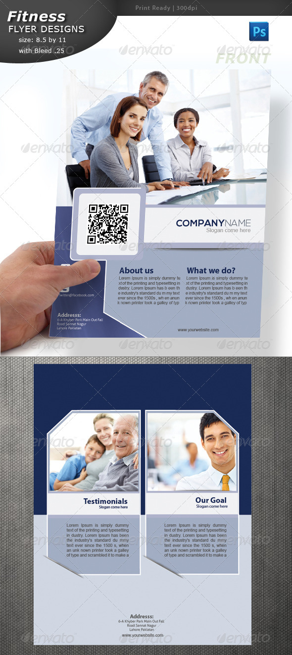 GraphicRiver Business Flyer 4615468