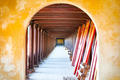 Arched hall of Hue citadel, Vietnam, Asia. - PhotoDune Item for Sale