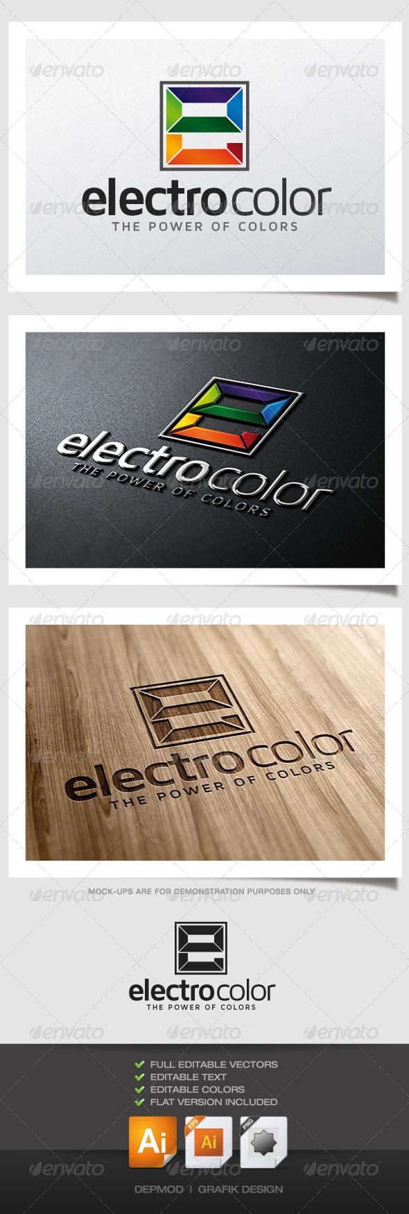 GraphicRiver Electro Color Logo 4788329